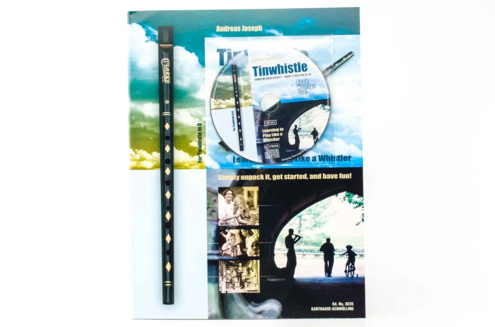 Tinwhistle by Andreas Joseph - Book/CD
