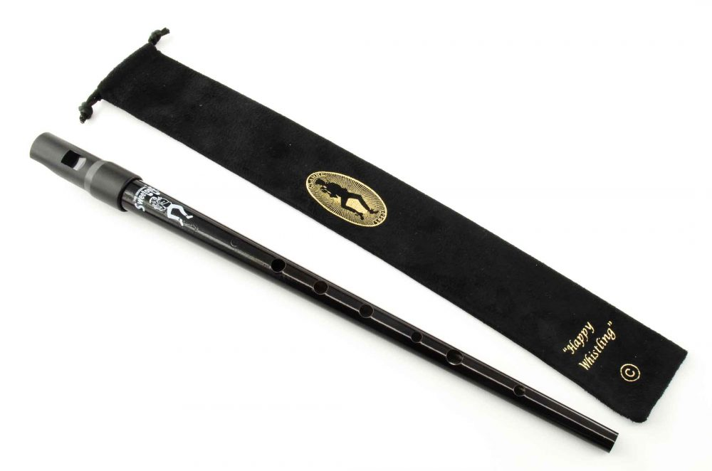 Sweetone C Tinwhistle with Pouch - Black