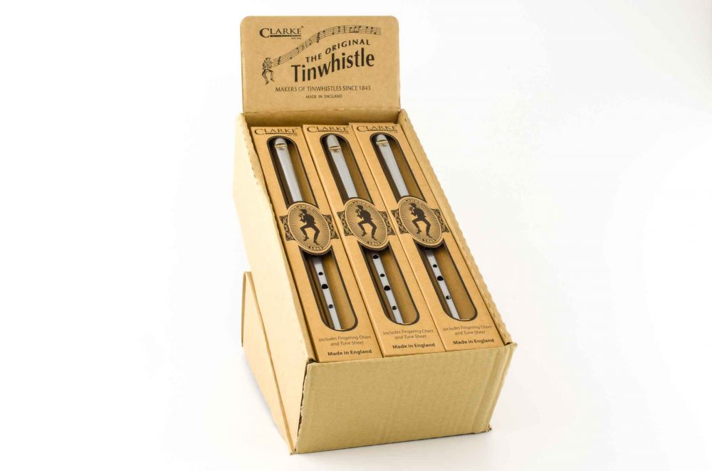 Original C Tinwhistle - Silver - 15 pack